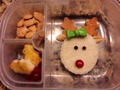 Christmas Rudolph reindeer lunch