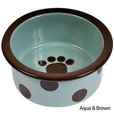 PetRageous Designs Sassy Ceramic Dog Bowl