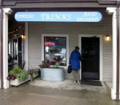 Trink's Cafe,Gualala, California