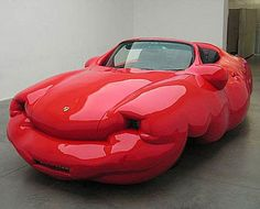 Fat Cars by Erwin Wurm from Austria