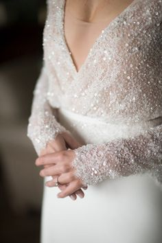 Your wintery wedding day look starts right here with these stunning winter wedding dresses. You'll fall for these fabulous winter wedding gowns. Wedding Dress Sleeves, Long Sleeve Wedding, Dresses With Sleeves, Long Sleeve Dresses, Flattering Wedding Dress, Short Sleeves, Perfect Wedding, Dream Wedding, Boho Wedding