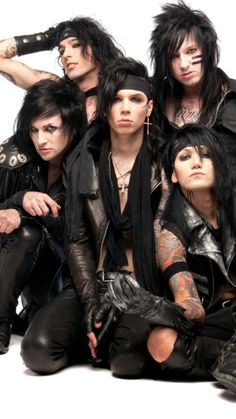 i love the black veil brides songs