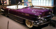 Elvis Presely's 1956 Cadillac Eldorado Convertible ... purple people eater ...My favorite color!  :)