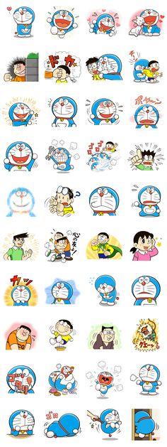 画像 - Doraemon's Many Emotions by Fujiko-Pro - Line.me