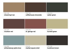 Paints From Hirshfieldu0027s: Williamsburg Colors Benjamin Moore Paints