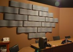 Whisperwave™ Ribbon Baffles | Beautiful Wave-Patterned Acoustical Wall Treatments | Acoustical Solutions, Inc.