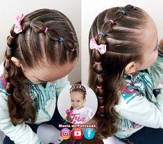 Easy Little Girl Hairstyles, Girls Hairdos, Cute Little Girl Hairstyles, Girls Natural Hairstyles, Cute Girls Hairstyles, Princess Hairstyles, Girls Braids, Braided Hairstyles, Toddler Hairstyles