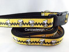 Snoopy Leash & Collar