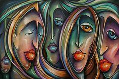 ' Masks' by Michael Lang