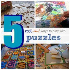 5 new ways to play with puzzles via teachmama