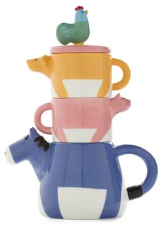 Tall Tails Tea Set | Mod Retro Vintage Kitchen | ModCloth.com