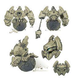 Constructs Fantasy Monster, Monster Art, Creature Concept Art, Creature Design, Character Concept, Character Art, Monster Design, Character Design References, Character Design Inspiration