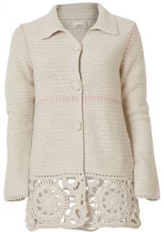 Odd Molly Crochet Grandma Jacket