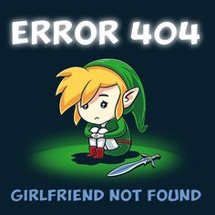 Thank your #Link  but your girlfriend is in another castle! #videojuegos #videogames #geekshirts #videogamesmeme #nintendomeme #zelda #thelegendofzelda #sectorn #nintendo #nintendofan #nintendero #instalike #instacute #error404 #hyrule #hylian By Teecat
