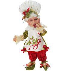 Small Christmas Kitchen Elf ~ UPC: 680036306422