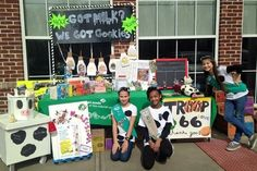 Cookies and Milk Girl Scout Cookie Booth Scout Mom, Girl Scouts, Buy Girl Scout Cookies, Scouting, Money Management, Daisies, Troops, Brownies, Milk