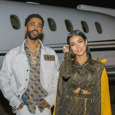 Black Couples Goals, Cute Couples Goals, Relationship Goals Pictures, Cute Relationships, Big Sean And Jhene, Afro, Couple Goals Cuddling, Jhene Aiko, Lauren London