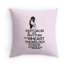 """""""Mantieni la calma teoria- AMY SONG"""" Throw Pillows da Alchimia   Redbubble"""