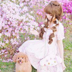ありがとうね💗リズリサ😭😭😭!! 秘密のアイテムお楽しみに💕💕💕今日は楽しすぎた!♪* *。.₊̣̇.ෆ˟̑*̑˚̑*̑˟̑ෆ.₊̣̇.ෆ˟̑*̑˚̑*̑˟̑ෆ.₊̣̇.ෆ˟̑*̑˚̑*̑˟̑ෆ.₊̣̇.ෆ˟̑*̑˚̑*̑˟̑ෆ.₊̣̇ #dog#lizlisa#gyaru#toypoodle#poodle#mydog#pet#instadog #コーデ#ヘアメイク#ヘアスタイル#コーディネート#himekaji #ガーデン#garden#code#gyaru#outfit#hairstyle #トイプードル#プードル#愛犬#幸せ#かわいい#ゆめかわいい#flowers#flowerstagram#dreamy#花畑#リズリサ#癒し