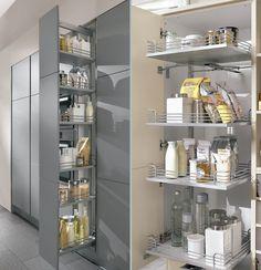 Cocinas con barra americana 35 dise os de lujo barras de for Accesorios interior cajones cocina