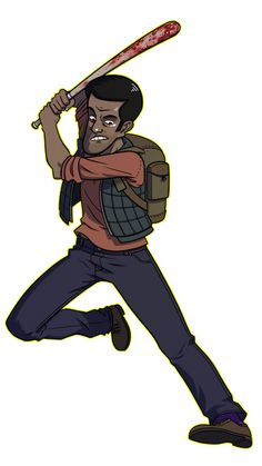 A quick drawing of Marcus from State of Decay.