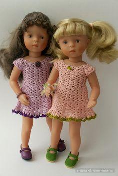 """Коллекция для Minouche """"Фиолето"""" / Одежда и обувь для кукол - своими руками и не только / Бэйбики. Куклы фото. Одежда для кукол"""