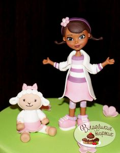 доктор плюшева/Doc McStuffins  - Cake by Влада