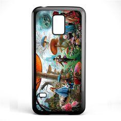 Alice In Wonderland Party Phonecase Cover Case For Samsung Galaxy S3 Mini Galaxy S4 Mini Galaxy S5 Mini