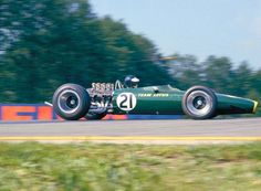 1967 Jimmy Clark,  Lotus Ford 49  car purchased by Pete Lovely