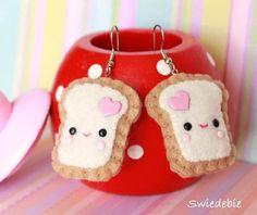 The Felt Plush Earrings - Teemie Toasts