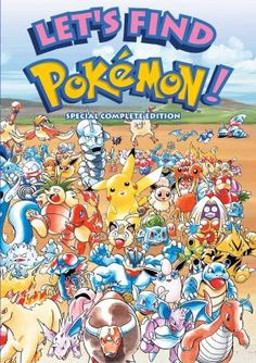 Let's Find Pokemon! Special Complete Edition (2nd Edition) 8/17