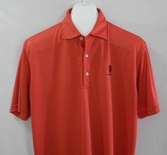 3c06c88d1ea Peter Millar Summer Comfort Golf Polo Shirt Scioto Country Club Mens Medium   PeterMillar  PoloRugby