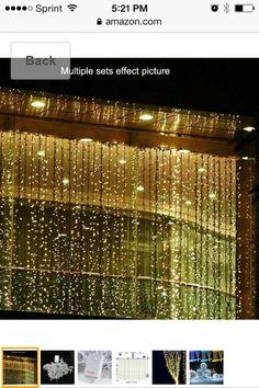 3x2m warm white 210 led net curtain string fairy lights lamp, Badezimmer