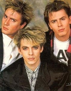 Simon Nick and John style blondie