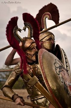 beautiful Greek hoplites - Google Search