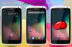 Android 4.1 Jelly Bean for HTC One X international