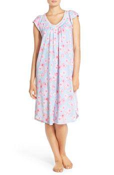 Carole Hochman Designs - Midnight by Carole Hochman Cotton Robe & Nightgown Set
