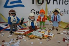 Carnival in Cologne. Our Playmobil employees are already celebrating. #Alaaf #TÜVRheinland #Playmobil