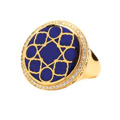 Blue jewelry trend? Definitely something we can get behind. #blue #ring
