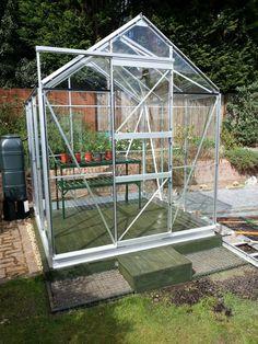Simplicity Shugborough 6 x 6 Aluminium greenhouse