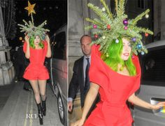 Lady Gaga In Vera Wang – Out In London