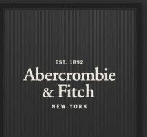 i love the simplicity and timelessness of the abercrombie logo