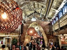 Chelsea Market in New York, NY  Tip: Fantastic foodie market. Lookout for the fresh seafood section. Try the clams!