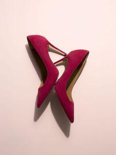 SALÓN METÁLICA PIEL ANTE de MUJER - Zapatos de Massimo Dutti de Otoño Invierno 2016 por 69.95. ¡Elegancia natural!