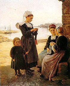 Emma Herland (1856 – 1947, French)