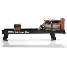 WaterRower Club Rowing Machine w S4 Monitor  Hi Rise Attachment * You can get more details by clicking on the image.