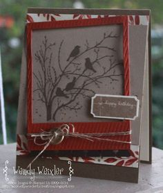 Wickedly Wonderful Creations: Stamp Review Crew - Serene Silhouettes Edition