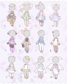 Cartoon Outfits, Anime Outfits, Anime Drawings Sketches, Cute Drawings, Drawing Anime Clothes, Clothing Sketches, Cute Art Styles, Fashion Design Drawings, Fanarts Anime