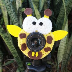 Jerry the Giraffe Lens Buddy, A Photographers Best Friend