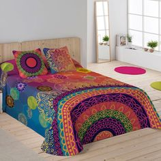Colcha YASIN Naturals Boho Comforters, New Beds, Luxury Bedding, House Colors, Boho Decor, Bed Sheets, Duvet Covers, House Styles, Furniture